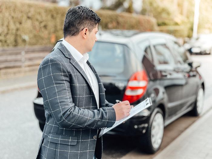 Kostenvoranschlag Auto